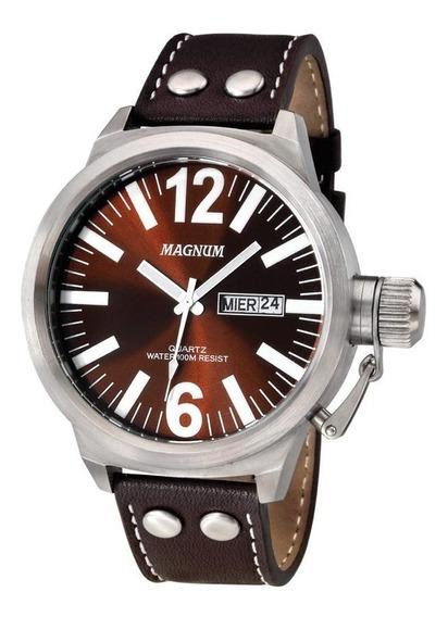 Relógio Magnum Masculino Original Mod. Ma31524v Frete Gratis 2 Anos Garantia Nota Fiscal E Caixa Original Promoção
