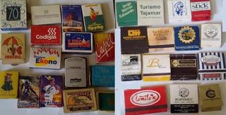 Coleccion De Mas De 30 Cajas De Fosforos