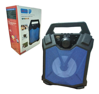 Parlante Portatil Bluetooth Jbk-410 Mp3 Usb Microsd Radio Fm