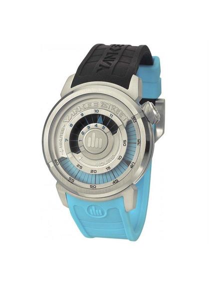 Relógio Yankee Street Unissex - Ys38196t - Cor Preto/azul