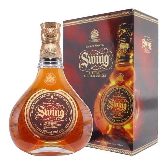 Whisky Johnnie Walker Swing 18 Años Blend 750cc Con Estuche