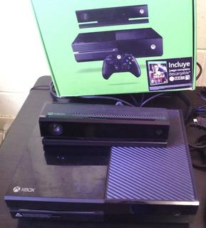 Xbox One Con Fifa 20 Y Re2 Y Otro En Excelente Estado Kinec