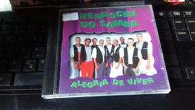 Cd Renascer Do Samba - Alegria De Viver - Original