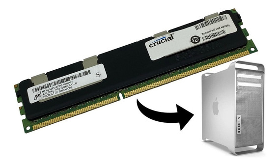 Memória 4gb Pc3-10600r Apple Mac Pro Mid 2010 2012 5.1 A1289
