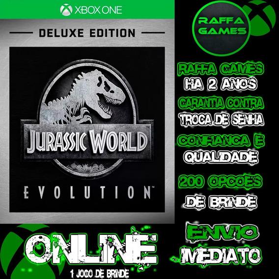 Jurassic World Evolution Deluxe Xbox One Online + Brinde