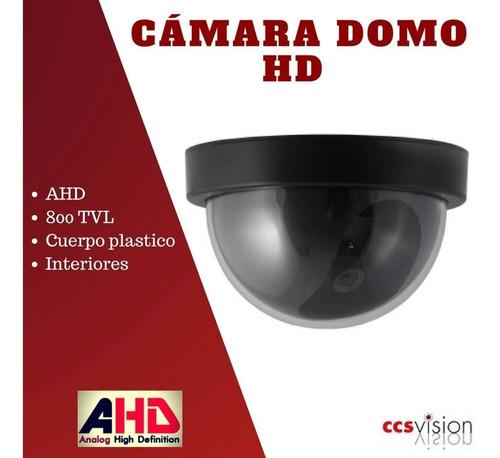 Camaras Vigilancia Domos 800tvl Reales, 1/3, 3.6mm. Plastica
