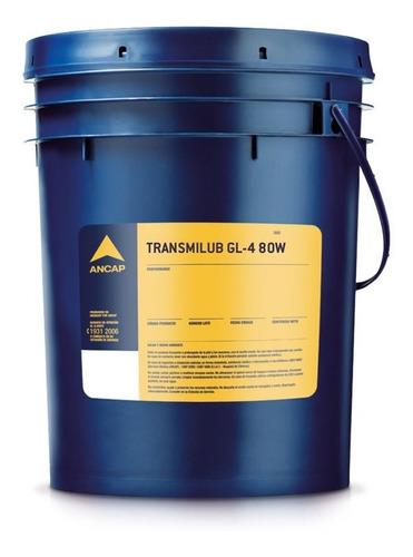 Valvulina Transmilub Gl4 80w Ancap 20 Lts Lubricante Mileban