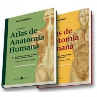 62fad59bc Atlas De Anatomia Humana 6ª Ed. Wolf-heidegger Petra 2 Vols - R$ 260 ...