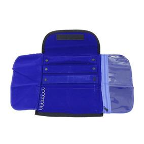 Mostruário Para Joias Pequeno Interno Azul Com Ziper