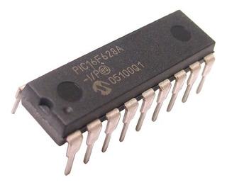 Microcontrolador Pic Pic16f628a - Placa De Desarrollo