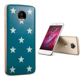 Moto Mods Style Shell Madera Moto Z3 Play Z2 Force Z Series