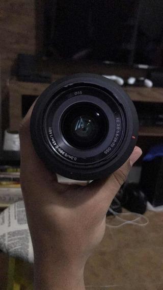 Câmera Sony A7ii + Lente Sony 28-70 Fe