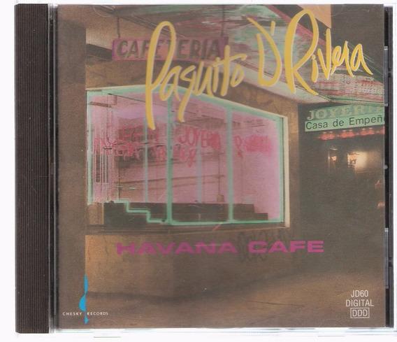 Cd Paquito D´rivera - Havana Café ( Usa ) Chesky 1992