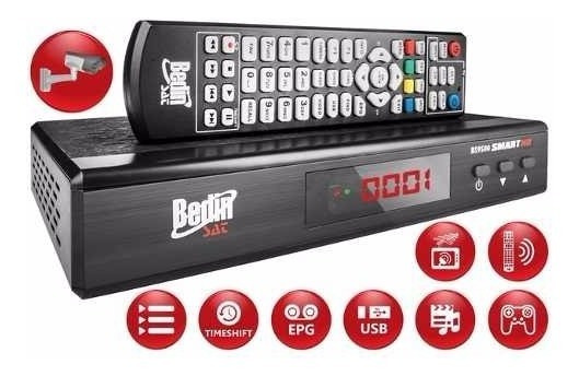 Receptor Analógico/digital Bedinsat Bs9500 Saída P/ Câmera