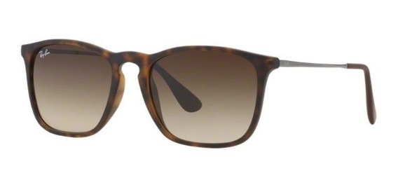 Oculos Sol Ray Ban Chris Rb4187l 856/13 54 Marrom Degradê