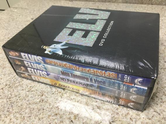 Dvd Box Elvis Collection 4 Dvds Elvis Presley Original