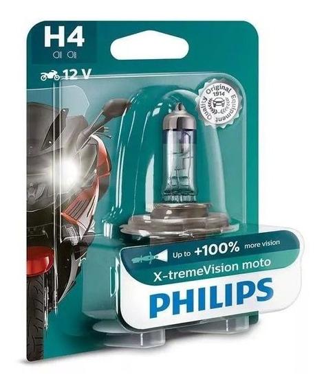 Lampada Do Farol Philips Moto Vision Yamaha Xv 535-s Virago