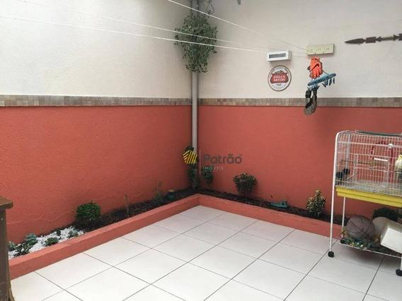 Sobrado Com 3 Dormitórios À Venda, 96 M² Por R$ 640.000 - Demarchi - São Bernardo Do Campo/sp - So0819