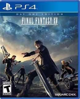 Final Fantasy Xv Ed. Dia Uno Ps4 Fisico / Mipowerdestiny