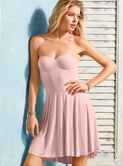 Vestido Victoria Secret Con Corpiño 34b Original Etiqueta