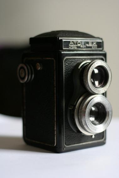 Rara Camera Tlr Atoms Atoflex Revisada. Linda E Funcional