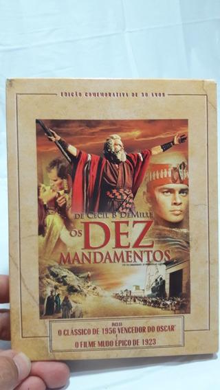 Dvd Filme Os 10 Mandamentos Coleção Colecionador Original.