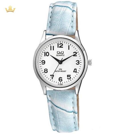 Relógio Q&q By Citizen Feminino C215j805y Com Nf