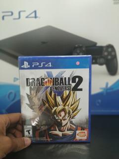 Dragon Ball Xenoverse 2 Ps4 Físico ¡ Totalmente Nuevo !