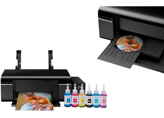 Impresora Fotográfica Inalámbrica Epson Ecotank L805 Negra