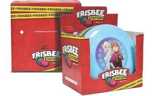 Freesbee Surtido ( Sofia, Trolls, Frozen, Avenger) X 16