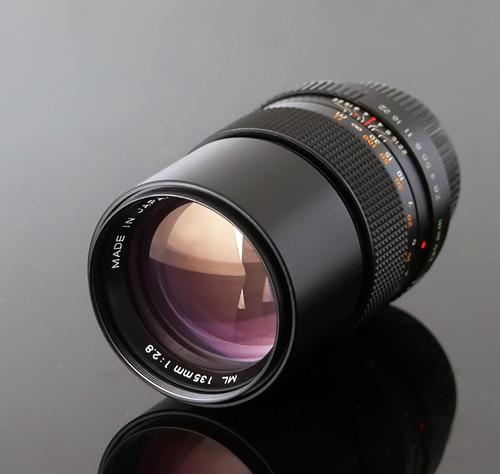 Yashica Ml 135\2.8 Com Adaptador Canon Eos Ef (ler Tudo)