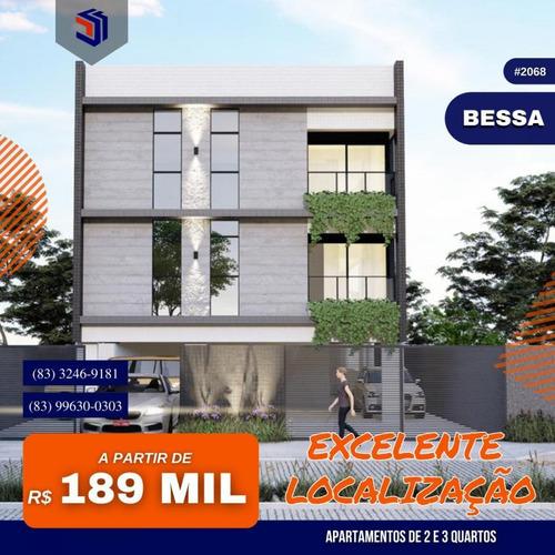 Apartamento Para Venda Em João Pessoa, Bessa, 2 Dormitórios, 1 Suíte, 2 Banheiros, 1 Vaga - 2068_1-1780548