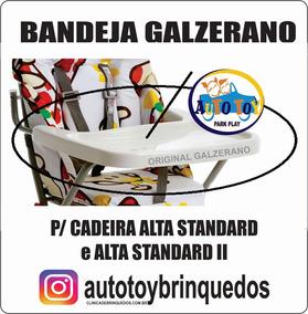 Bandeja Galzerano P / Cadeira Refeição Alta Standard I