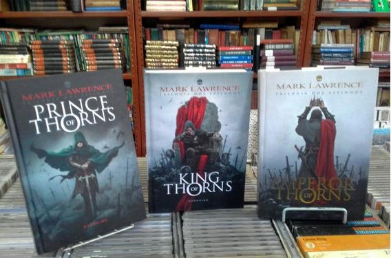 Mark Lawrence Trilogia Dos Espinhos (capa Dura)