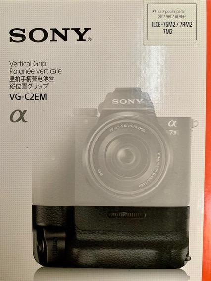 Grip Sony Vg-c2em Original Para Alpha A7 Ii, A7r Ii E A7s Ii