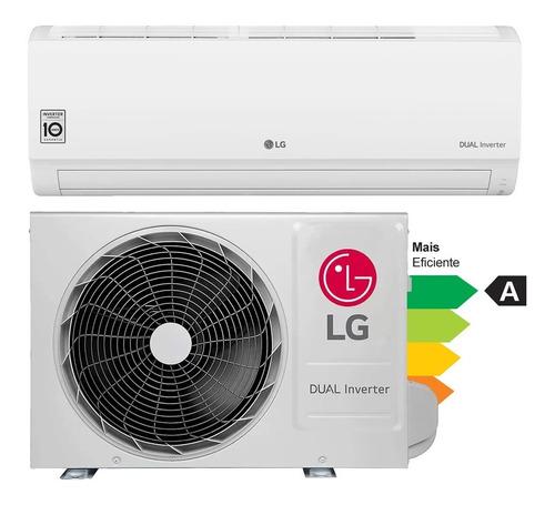 Imagem 1 de 5 de Ar-condicionado Inverter LG Split Hi-wall Compact 9.000 Btus