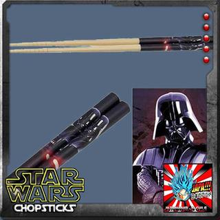 Darth Vader Palitos Star Wars Bamboo Chopsticks Skatte Nuevo