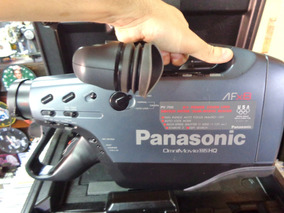 Filmadora Bellpanasonic Omnimovie Vhs Afx8 Ccd Super H