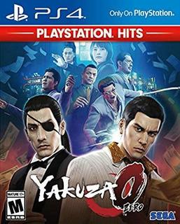 Juego Yakuza 0 - Playstation Hits Para Playstation 4 Sellado
