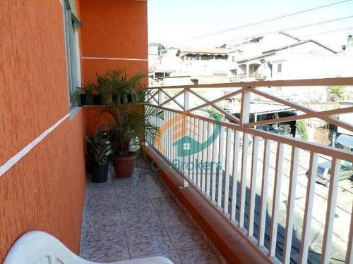 Imagem 1 de 20 de Sobrado Com 2 Dormitórios À Venda, 197 M² Por R$ 410.000,00 - Vila Bremen - Guarulhos/sp - So0224
