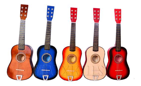 Mini Violão De Madeira Infantil Musical - String Guitar