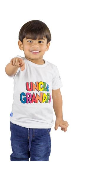 Franela Niño Kaplers Kids Blanco Detal Mayor Oferta