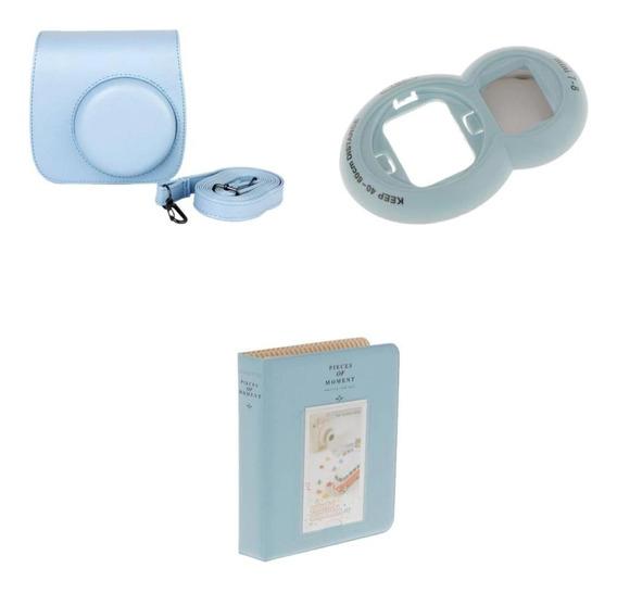 Kit Acessórios Instax Mini 8 E 9 + Case + Álbum