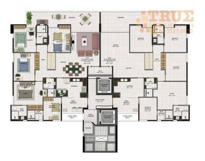 Apartamento Com 4 Dormitórios À Venda, 117 M² Por R$ 840.000 - Rosarinho - Recife/pe - Ap0573