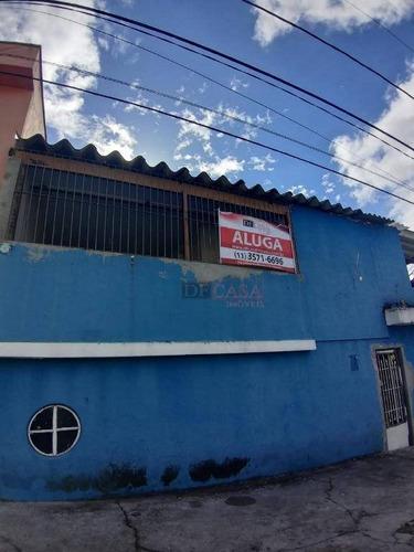Casa Para Alugar, 60 M² Por R$ 2.500,00/mês - Itaquera - São Paulo/sp - Ca0558