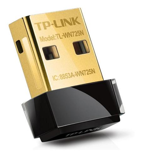 Imagen 1 de 9 de Extensor De Red Adaptador Wifi Nano Usb Tl-wn725n Tp-link