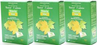 Stevia En Saquitos Por 100 Sobres De 0,5 Grs - Dulri X 3 Uni