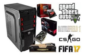 Computador Pc Gamer Fx-8300-rx560|8gb Ram|500gb/hd