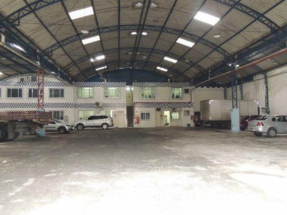 Galpão Em Vila Matias, Santos/sp De 1000m² Para Locação R$ 18.000,00/mes - Ga358350