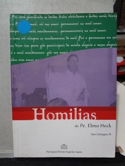 Livro Homilias Pe. Elmo Heck Ano Liturgico B
